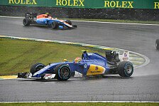 Formel-1-Fahrermarkt 2017: Die Situation bei Sauber und Manor