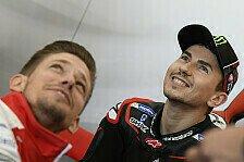 MotoGP-Tester Casey Stoner hadert: Schwierig, Jorge Lorenzo bei Ducati zu helfen
