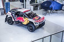 Dakar Rallye - Bilder: So sieht das neue Dakar-Auto von Peugeot aus