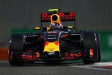 Max Verstappen verpasste beim Qualifying in Abu Dhabi Startplatz drei