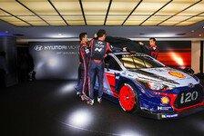 WRC - Bilder: Präsentation Hyundai i20 Coupe WRC