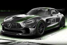 Mercedes präsentiert GT4-Version des AMG GT R