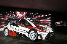 WRC - Video: Der Toyota Yaris WRC in Action auf Asphalt