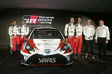 WRC - Toyota Yaris WRC Launch