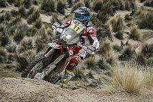 Schon wieder Unwetter bei der Rallye Dakar - Joan Barreda gewinnt 8. Etappe