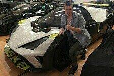 Benjamin Mazatis startet bei den 24H von Dubai