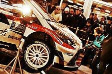 WRC - Video: Hinter den Kulissen von Toyota im Service Park von Gap
