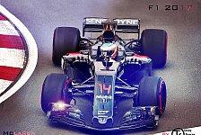 So brutal breit wird die neue Formel 1