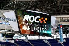 Motorsport - Video: Race of Champions 2017: Die Rennstrecke im Marlins Park