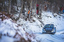WRC - Video: So klang Tänaks defekter Motor bei der Rallye Monte Carlo