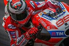 Jorge Lorenzo: Unterschied zwischen Ducati und Yamaha größer als gedacht