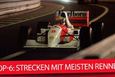 Formel 1 - Video: Top-6: Strecken mit den meisten Grands Prix