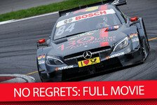 DTM - Emotionales Film-Erlebnis: No Regrets! Die komplette Mercedes-Story als Film