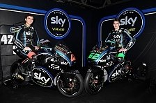 Moto2 - Bilder: Sky VR46 Team-Launch