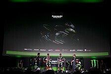 Superbike - Video: Kawasaki enthüllt sein Superbike für 2017