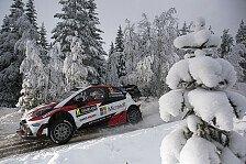 WRC - Video: Hänninen fährt gegen einen Baum - schon wieder