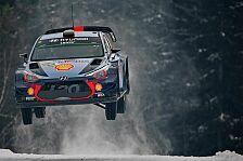 Die Szenen der Rallye Schweden - Teil 1