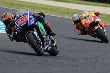 Testfahrten MotoGP Australien: Das Leistungsbarometer der MotoGP-Fahrer