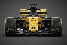 Live-Ticker: Renault launcht seinen 2017er F1-Boliden