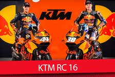 MotoGP - Video: KTM MotoGP Launch 2017