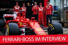 Formel 1 - Video: Ferrari-Chef Arrivabene im Interview