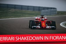 Formel 1 - Video: Shakedown des SF70H in Fiorano