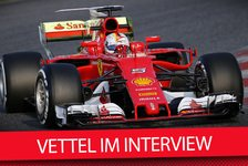 Formel 1 - Video: Ferrari-Star Sebastian Vettel im Interview