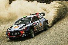 WRC - Video: Rallye Mexiko: Hyundai kämpft mit technischen Problemen