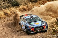 WRC - Video: Neuville jagt erstes Hyundai-Podium 2017