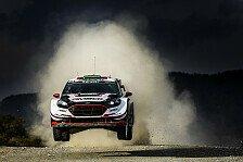 Tag 1 der Rallye Argentinien: M-Sport-Pilot Evans führt
