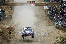 WRC - Video: Neuville sorgt für Hyundai-Trostpflaster in Mexiko