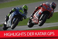 MotoGP - Video: Die Highlights der Katar GPs