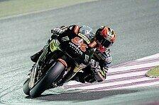 FP1 Katar: Vinales bezwingt Repsol-Duo, Folger top