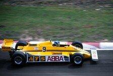 Formel 1 heute vor 39 Jahren: ABBA entert die Königsklasse