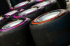 Formel 1: Reifenlieferant Pirelli stellt Weichen für 2018