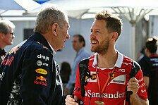 Formel 1 - Marko über Vettel-Aus: Glauben an Ferrari verloren