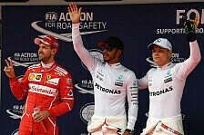 Formel 1 - Hamilton auf Pole: Live-Ticker China GP: Qualifying in Shanghai