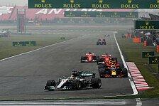 China: Hamilton siegt vor Vettel - Mega-Show von Verstappen