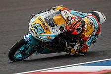 Moto3-Qualifying in Brünn: Rodrigo auf Pole, Öttl Zehnter