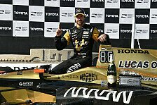 IndyCar - Hinchtown siegt dank Strategie: Hinchcliffe gewinnt Klassiker in Long Beach