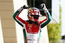 Formel-2-Saisonfautakt in Bahrain: Artem Markelov und Charles Leclerc siegreich