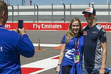 Formel 1 - Video: Daniil Kvyat beim Curling