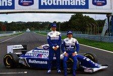Formel 1 - Bilderserie: Teamkollegen: Ayrton Senna und Damon Hill