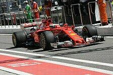 FP1: Räikkönen Schnellster, Vettel mit Dreher