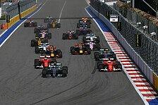 Formel 1, Russland 2018 live: RTL, ORF, Live-TV, Livestream