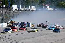 NASCAR - Video: Big One in Talladega: Allmendinger auf dem Dach