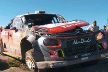 WRC - Video: Argentinien: Zweiter Meeke-Unfall mit acht Überschlägen