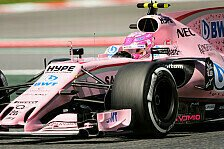Spanien GP - Force India: 25.000 Euro Strafe wegen Startnummern