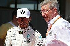 Formel 1 nach Hamiltons Regel-Schelte: Brawn plant 3 Meetings
