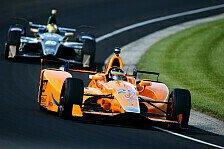 Formel 1, McLaren & Alonso: Chevrolet statt Honda beim Indy 500